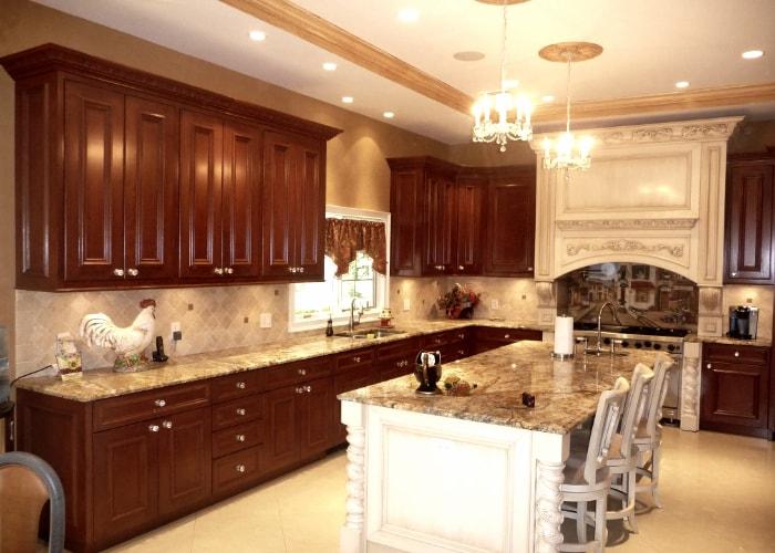 venetian plaster kitchen-min